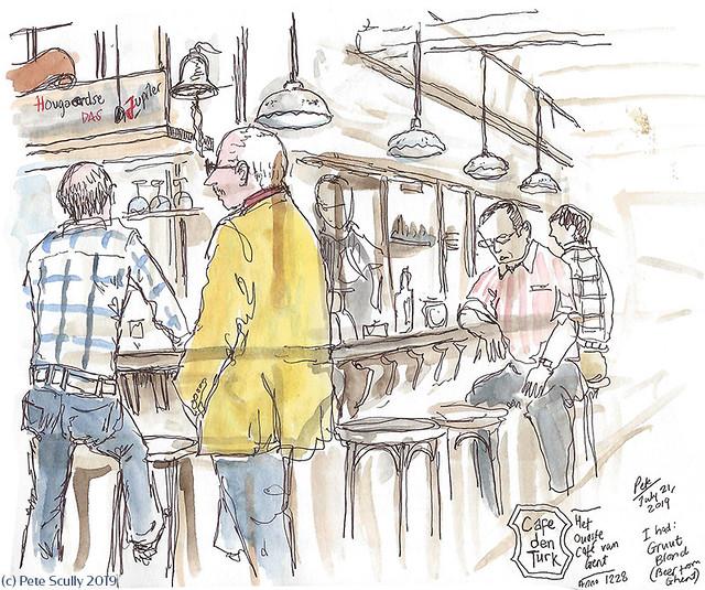 Ghent Cafe Den Turk