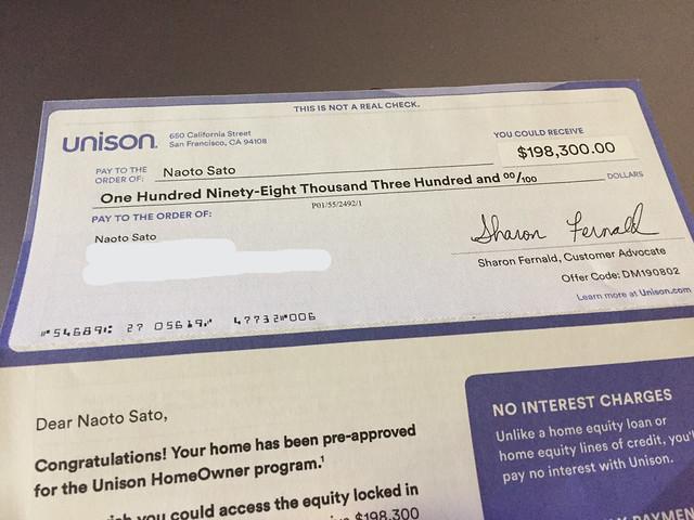 $198,300 check