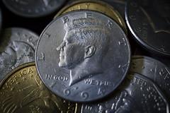 coins johnfkennedy president liberty dollar sony a6000