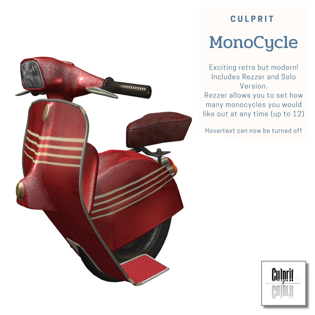MonoCycle_Red_racer - TeleportHub.com Live!
