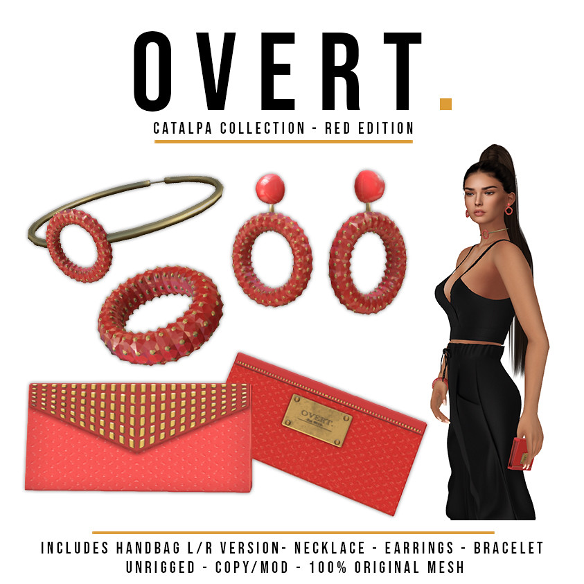Overt. Catalpa Collection – Red Ad