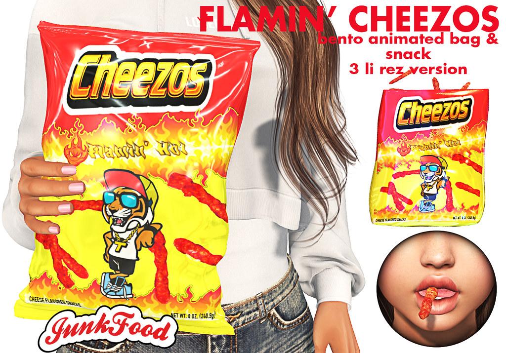 Junk Food – Flamin' Cheezos Ad