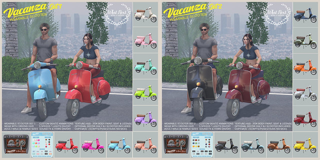{what next} Vacanza Wearable Scooters for Fifty Linden Friday