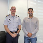 Reunião com Comandante Geral da Policia Militar do Distrito Federal - PMDF Coronel Pontes