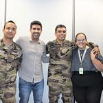 Reunião com Major Souza Júnior e Sargento Weslen Silva do Batalhão da Policia Militar Ambiental