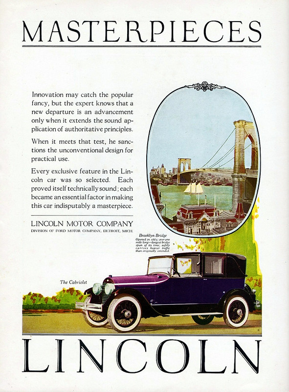 1924 Lincoln Cabriolet