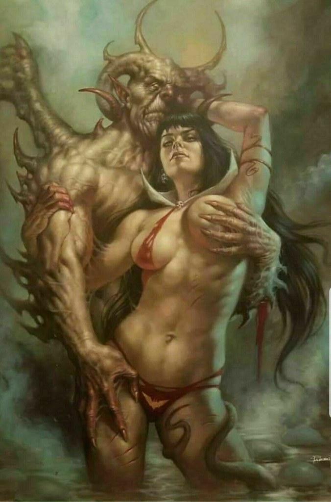 Vampirella #1 Cover Variant - LUCIO PARRILLO