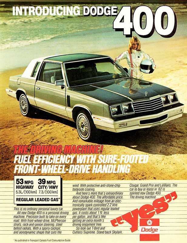 1982 Dodge 400 Coupe