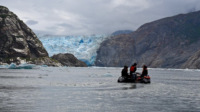 Zodiac MilPro Excursion: Tracy Arm Fjord and South Sawyer Glacier