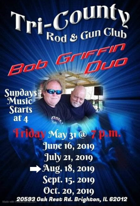 Bob Griffin Duo 8-18-19