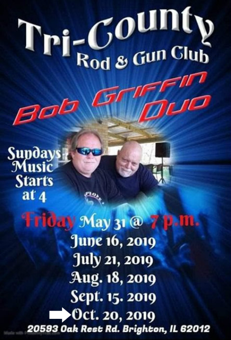 Bob Griffin Duo  10-20-19