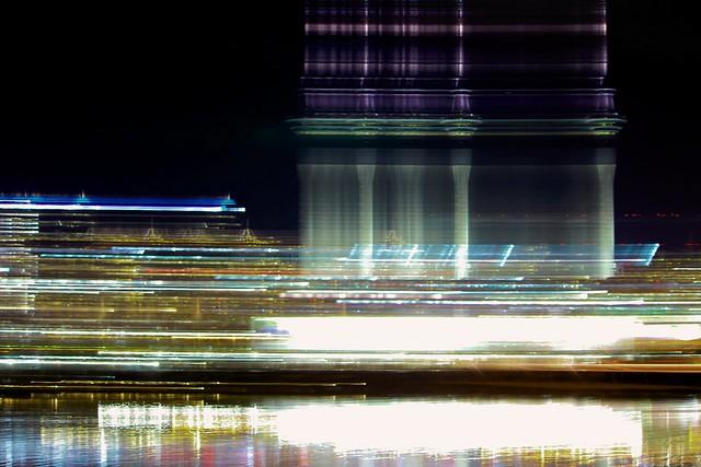 Night in the city...a bit of a blur