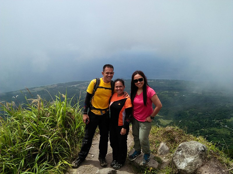 Pinoy Travel Bloggers on Mt. Hibok-hibok