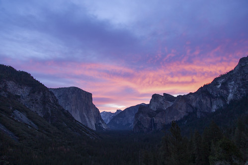 canon6d landscape nature outdoors outside dawn morning sunrise sky clouds colour yosemite california usa