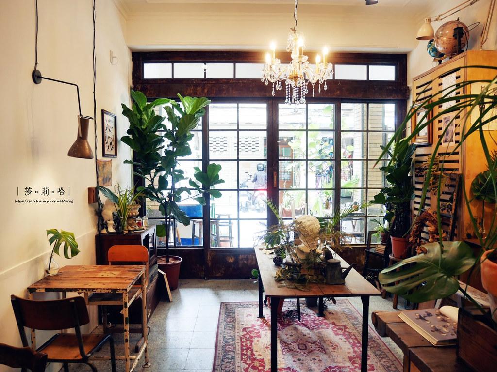 台北北門站附近迪化街草原派對Grassland超好拍復古網美風咖啡廳植物系餐廳雜貨古董老房子 (4)