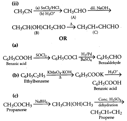 CBSE Previous Year Question Papers Class 12 Chemistry 2017 Delhi Set I Q18.2