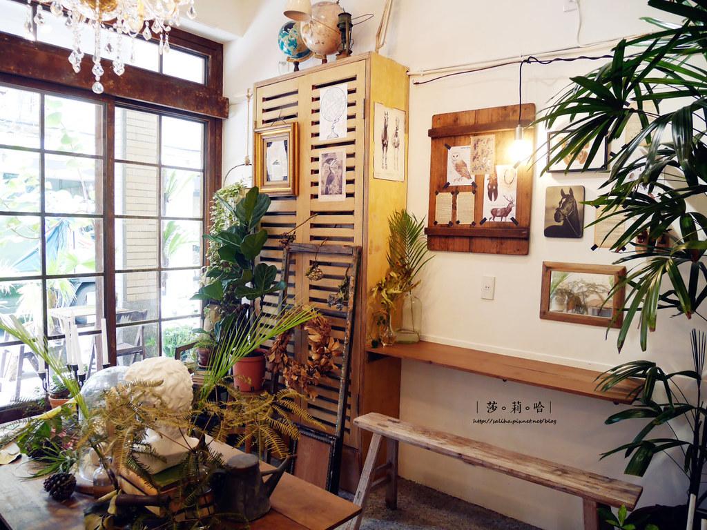 台北迪化街草原派對文青植物風復古咖啡館ig好拍景點餐廳 (3)