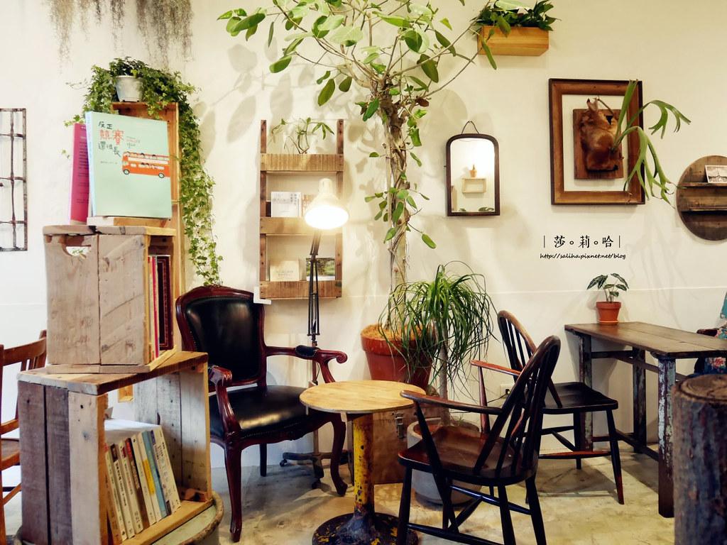 台北北門站附近迪化街草原派對Grassland超好拍復古網美風咖啡廳植物系餐廳雜貨古董老房子 (1)