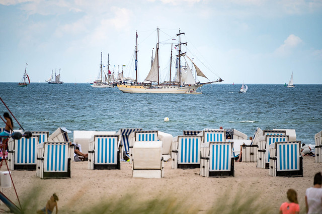 Baltic Sea - Warnemünde - Beach 4454 - Hanse Sail