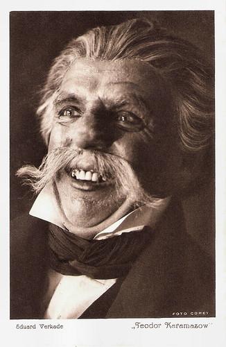 Eduard Verkade as Feodor Karamazov