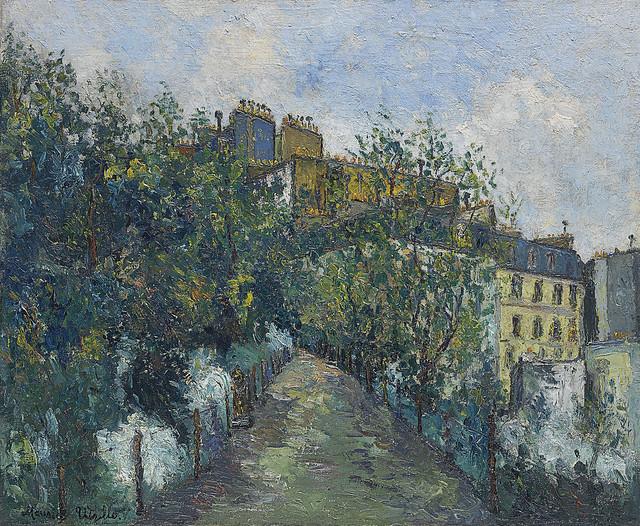 Maurice Utrillo - Le Square Saint-Pierre à Montmartre [c.1908]