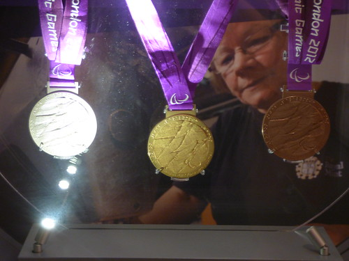 London 2012 Paralympic Medals The Royal Mint Llantrisant Aug 2019