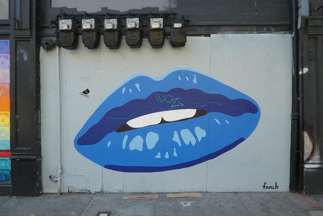 fnnch street art, Haight-Ashbury, San Francisco