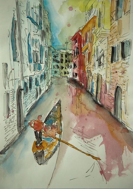 Venice Gondoliere