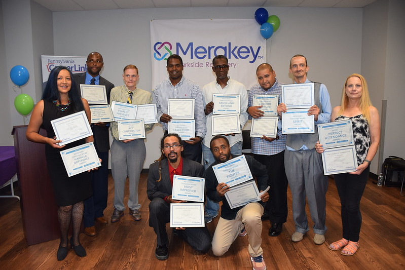 "Merakey Parkside Recovery ""Recovery Through Work"" Graduation - August 2019"