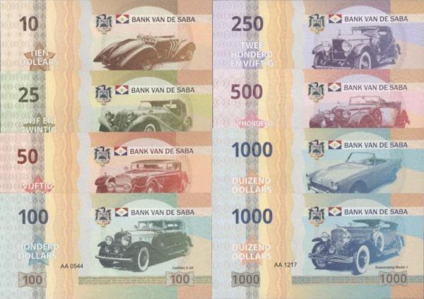 Saba 10-1.000 Dollars 2015