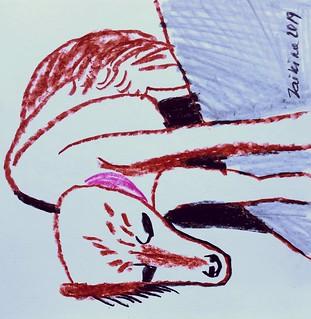 Maria Zaikina, Maria, pencils on paper, 2019