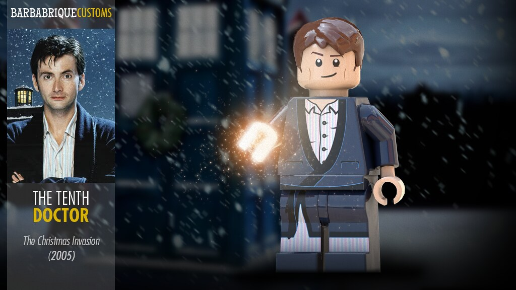 Doctor Who The Christmas Invasion.The Tenth Doctor Christmas Invasion Custom Minifig Flickr