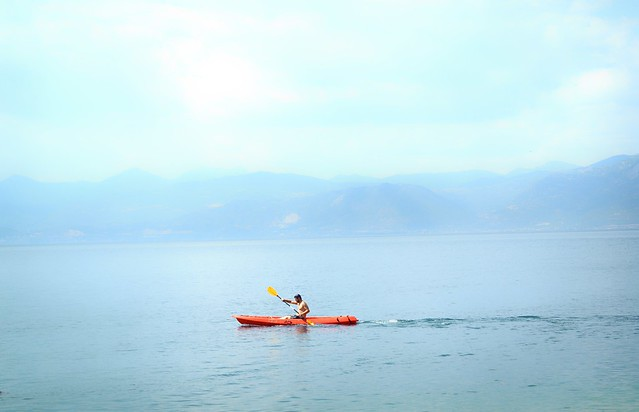 A Hot Summer Day : Paddle