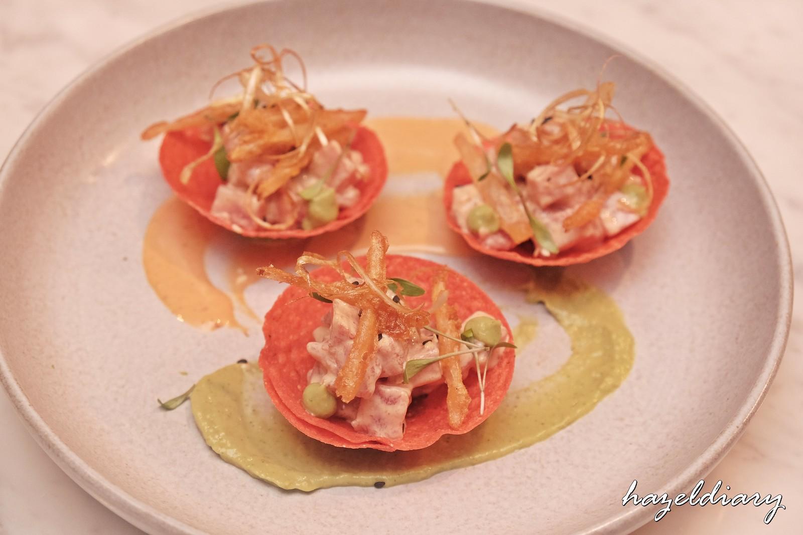 El Mero Mero Chijmes-Fresh Tuna Tartar