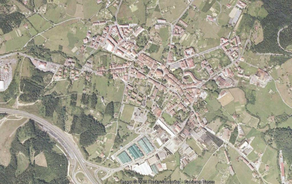 elorrio, vizcaya, el hórreo, antes, urbanismo, planeamiento, urbano, desastre, urbanístico, construcción