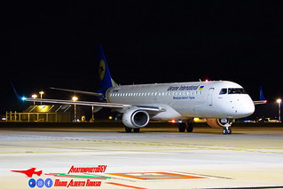Ukraine International Airlines Embraer ERJ-190-200AR UR-EMG