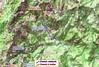 Carte IGN des chemins du Haut-Cavu restaurés ou en cours de restauration au 30/06/2019