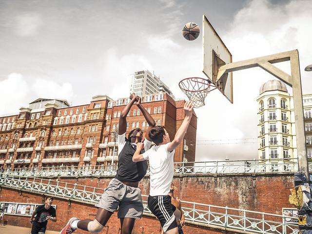brighton street photography basketball brighton beachfront by feej13 x