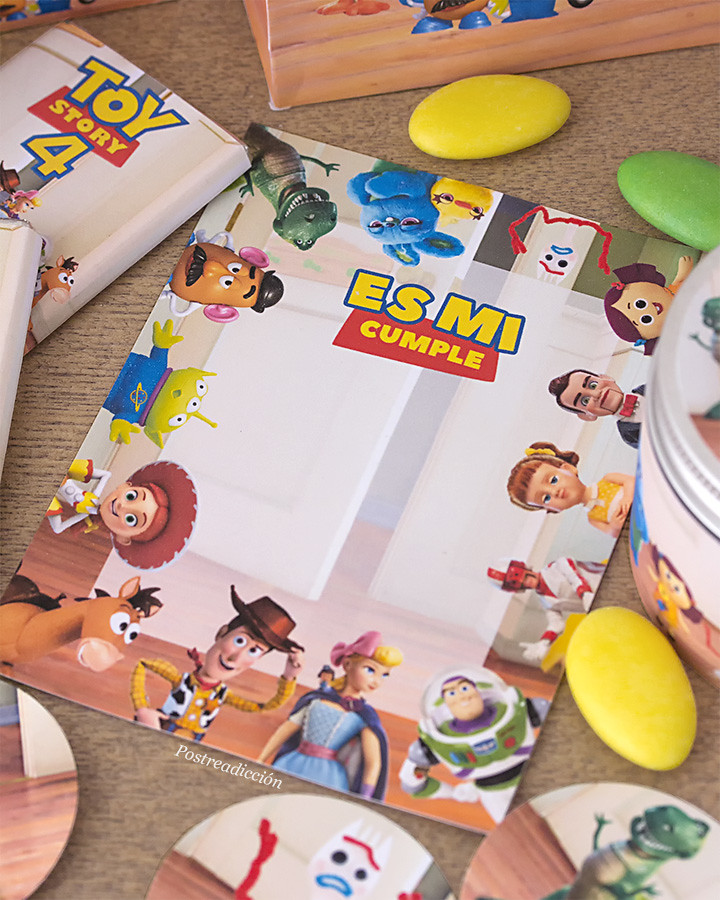 Toy Story invitaciones descargar