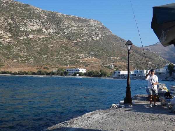 pêcheur à Apollonas