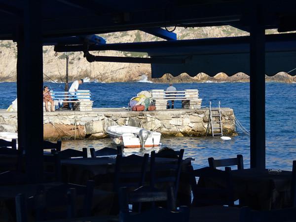 taverne à Apollonas