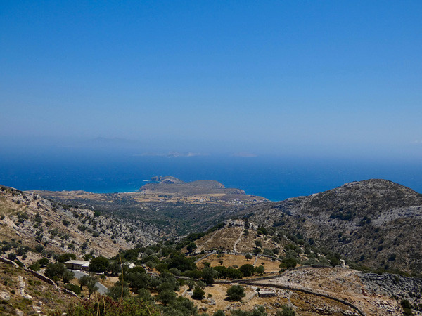 panorama sur les Cyclades