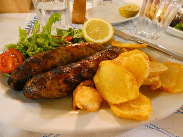 les saucisses de Naxos