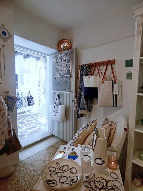 la plus jolie boutique de Naxos