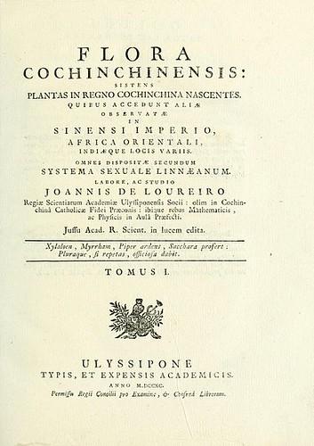 Flora Chochinchinensis