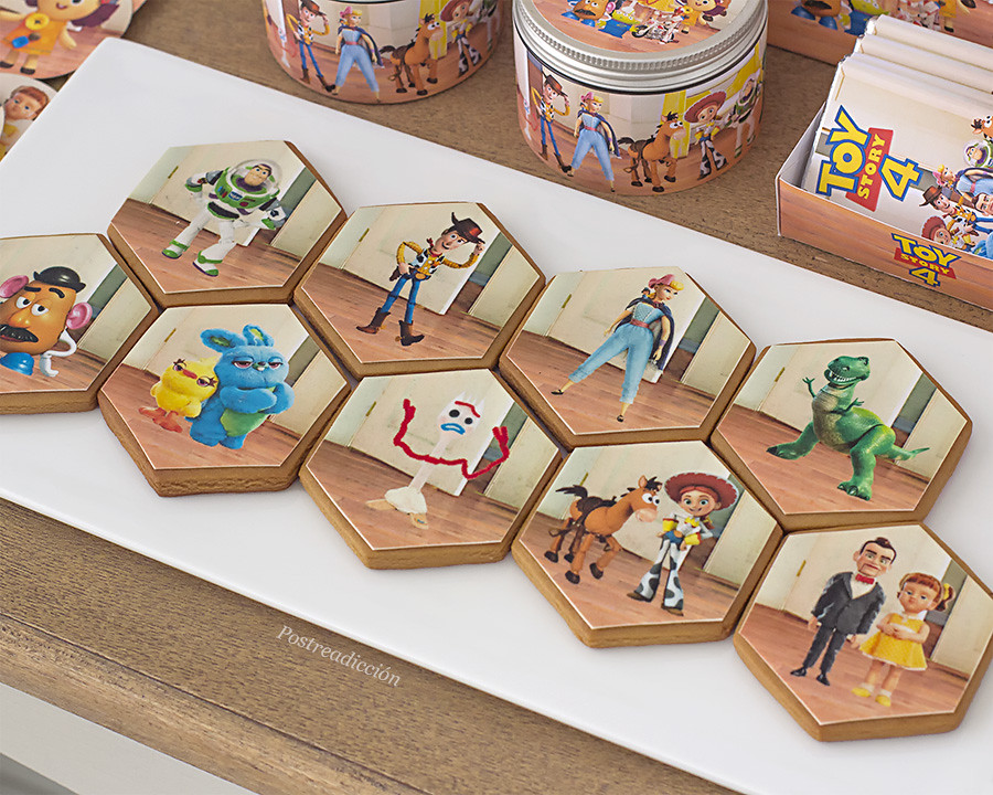 Toy Story 4 galletas