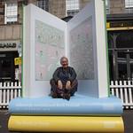 George Street giant books | © Robin Mair