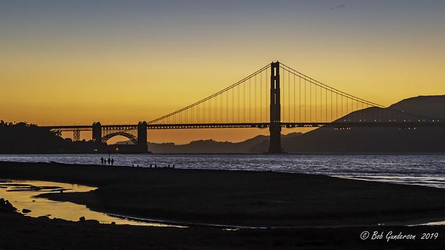 Sunset - Golden Gate Bridge