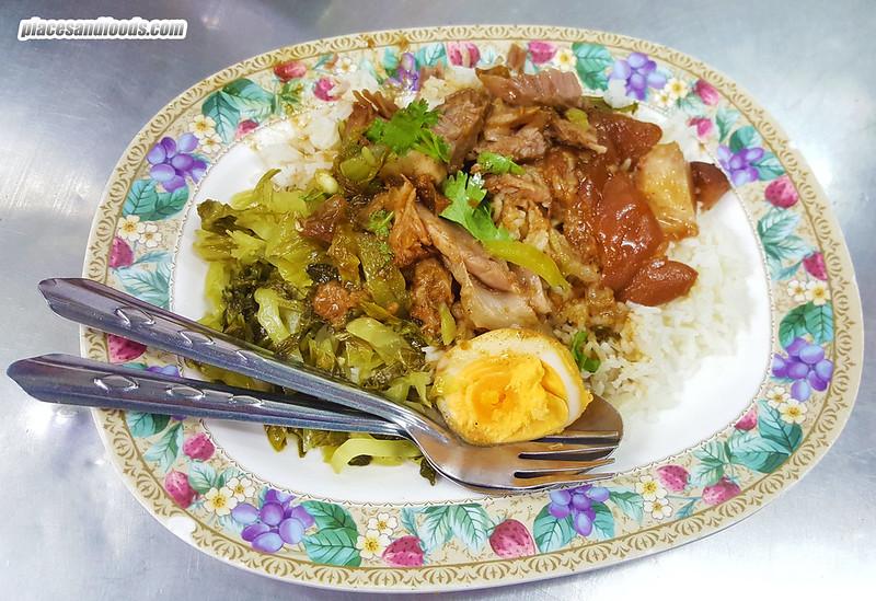 sabx2 pratunam pork trotters rice