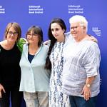 Karine Polwart, Ali Smith, Nayrouz Qarmout & Val McDermid | © Roberto Ricciuti